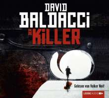 David Baldacci (geb. 1960): Der Killer, 6 CDs