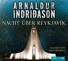 Arnaldur Indriðason: Nacht über Reykjavík, 4 CDs