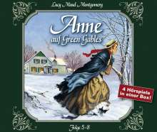 Lucy M. Montgomery: Anne auf Green Gables, Folge 5-8, 4 CDs