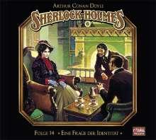 Arthur Conan Doyle: Sherlock Holmes - Folge 14. Eine Frage der Identität, CD