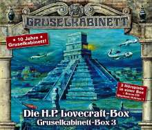 H. P. Lovecraft: Gruselkabinett - Box 3, 4 CDs
