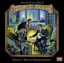 Arthur Conan Doyle: Die fünf Orangenkerne, CD
