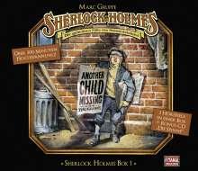 Arthur Conan Doyle: Sherlock Holmes Box 1, 4 CDs