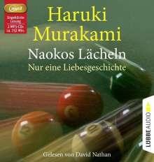 Haruki Murakami: Naokos Lächeln (2 MP3-CDs), 2 CDs