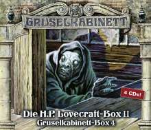 H. P. Lovecraft: Gruselkabinett-Box 4, 4 CDs