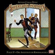 Arthur Conan Doyle: Sherlock Holmes - Folge 25, CD