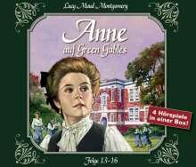 L. M. Montgomery: Anne auf Green Gables - Box 4, 4 CDs