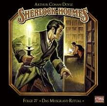 Arthur Conan Doyle: Sherlock Holmes - Folge 27, CD