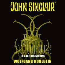 Wolfgang Hohlbein: John Sinclair - Oculus, 2 CDs