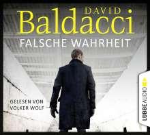 David Baldacci (geb. 1960): Falsche Wahrheit, 6 CDs