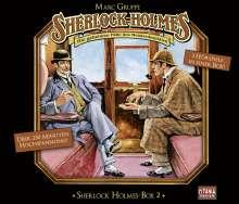 Arthur Conan Doyle: Sherlock Holmes Box 2, 3 CDs