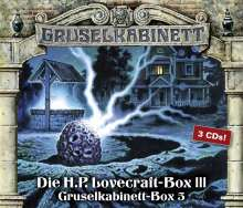 H. P. Lovecraft: Gruselkabinett-Box 5, CD