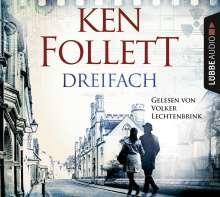 Ken Follett: Dreifach, 6 CDs