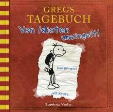 Jeff Kinney: Gregs Tagebuch 1 - Von Idioten umzingelt!, CD