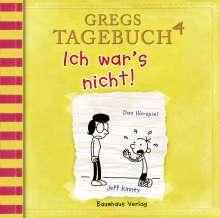 Jeff Kinney: Gregs Tagebuch 4 - Ich war's nicht!, CD