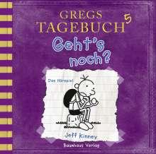 Jeff Kinney: Gregs Tagebuch 5 - Geht's noch?, CD