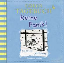 Jeff Kinney: Gregs Tagebuch 6 - Keine Panik!, CD