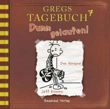 Jeff Kinney: Gregs Tagebuch 7 - Dumm gelaufen!, CD