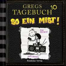 Jeff Kinney: Gregs Tagebuch 10 - So ein Mist!, CD