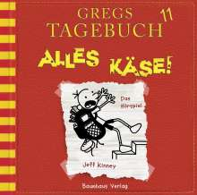 Jeff Kinney: Gregs Tagebuch 11 - Alles Käse!, CD