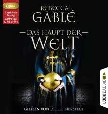 Rebecca Gablé: Das Haupt der Welt, 4 CDs