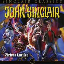Jason Dark: John Sinclair Classics - Folge 37, CD