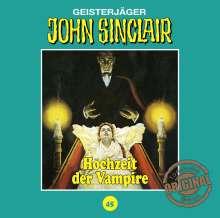 Jason Dark: John Sinclair Tonstudio Braun - Folge 45, CD