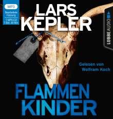Lars Kepler: Flammenkinder, MP3-CD