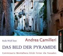 Das Bild der Pyramide: Commissario Montalbano blic, 4 CDs