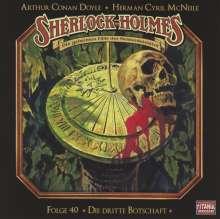 Sir Arthur Conan Doyle: Sherlock Holmes - Folge 40, CD