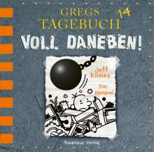 Jeff Kinney: Gregs Tagebuch 14, CD