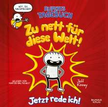 Ruperts Tagebuch - Zu nett für diese Welt!, 2 CDs