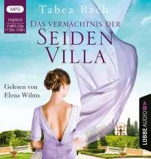 Tabea Bach: Das Vermächtnis der Seidenvilla, 2 MP3-CDs
