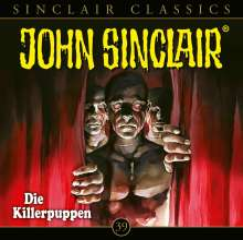 Jason Dark: John Sinclair Classics - Folge 39, CD