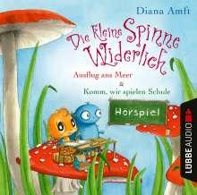 Die kleine Spinne Widerlich: Ausflug ans Meer & Ko, CD