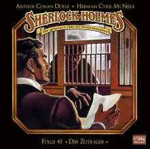 Sherlock Holmes - Folge 43. Der Zuträger, CD