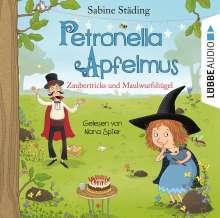 Petronella Apfelmus-Zaubertricks und Maulwurfshügel, 2 CDs