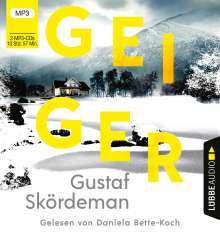 Gustaf Skördeman: Geiger, 2 MP3-CDs