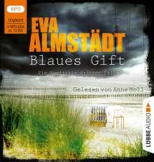 Eva Almstädt: Blaues Gift, MP3-CD