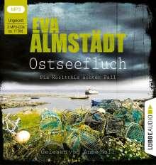 Eva Almstädt: Ostseefluch, 2 MP3-CDs