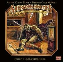 Sherlock Holmes - Folge 44. Der zweite Hund, CD