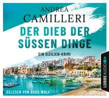 Andrea Camilleri (1925-2019): Der Dieb der süßen Dinge, 4 CDs
