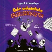 Jeff Kinney: Rupert präsentiert: Echt unheimliche Gruselgeschichten, 2 CDs