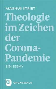 Magnus Striet: Theologie im Zeichen der Corona-Pandemie, Buch