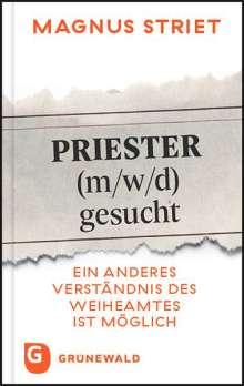 Magnus Striet: Priester gesucht, Buch