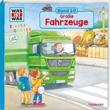 Benjamin Schreuder: WAS IST WAS Kindergarten Band 20. Große Fahrzeuge, Buch