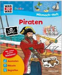 Tatjana Marti: WAS IST WAS Junior Mitmach-Heft Piraten, Buch