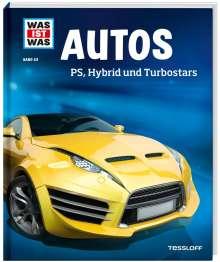 Bernd Flessner: WAS IST WAS Band 53. Autos. PS, Hybrid und Turbostars, Buch