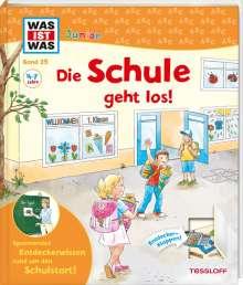 Christina Braun: WAS IST WAS Junior Band 25 Die Schule geht los!, Buch
