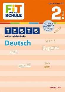 Peter Kohring: Fit für die Schule: Tests mit Lernzielkontrolle. Deutsch 2. Klasse, Buch